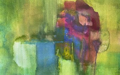 Kunst und Text: Rose am Teich – wie ich die Stille fand