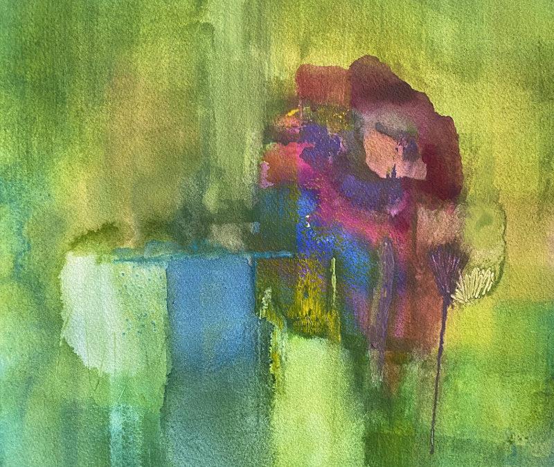 Rose am Teich – Wie ich die Stille fand